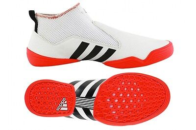 Adidas Contestant Martial Arts Trainers Training Laceless Karate Taekwondo Shoes