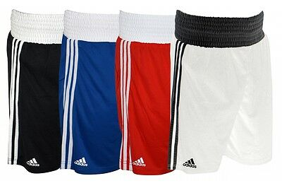 Adidas Boxing Shorts Base Punch Climalite White Blue Red Black XXS-XXL Mens