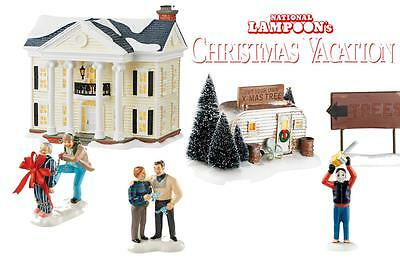 NEW 2016 Department 56 Snow Village Griswold Christmas Vacation 5 PC 2016 Set