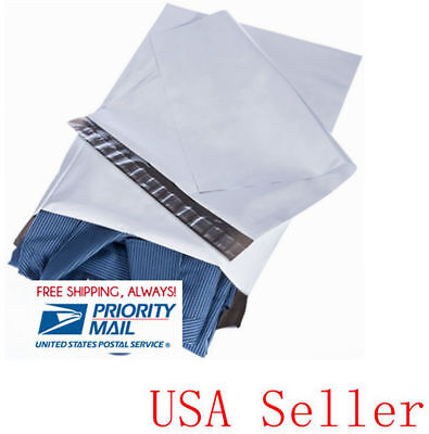 50 19x24 Poly Mailers Envelope Self Sealing Shipping Bag 2.35 Mil, Priority Ship