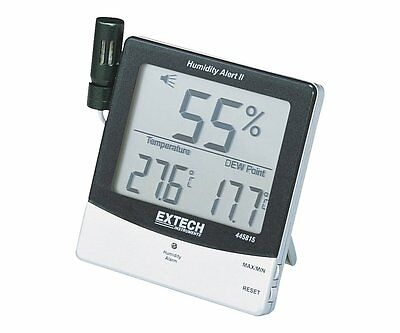 Extech 445815 Humidity Meter with Alarm and Remote Probe