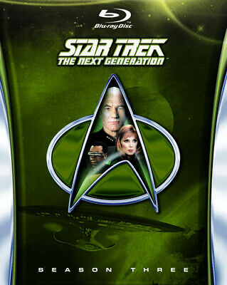 Star Trek the Next Generation: The Complete Season 3 Blu-Ray (2013) Patrick
