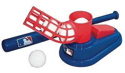 Franklin Sports  Kids Baseball Practice Pitcher Equipment Toys MLB Pop A Pitch