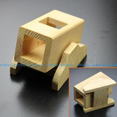 Cute Wooden House Cage Play Toy Small Animal Pet Hamster Mice Rat Mouse Hideout