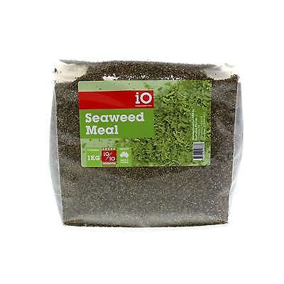 Seaweed Meal iO Horse Equine 1kg Health Supplement Calm Nervous Horses Calming