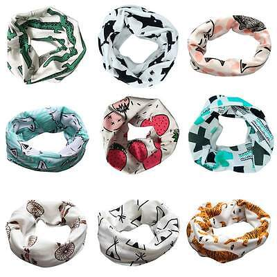Baby Boy Girls Scarves Neck Wraps Ring Scarf Toddler Shawl Neckerchief Patterns