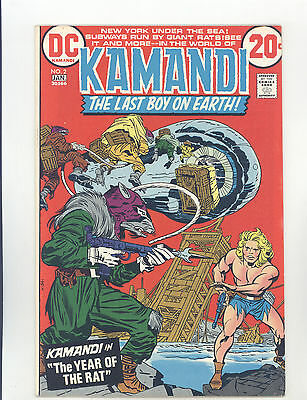 Kamandi #2 FNVF Kirby, Intro The Rat