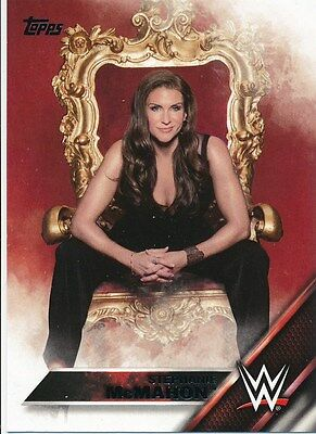 #146 STEPHANIE McMAHON 2016 Topps WWE Then Now Forever DIVA
