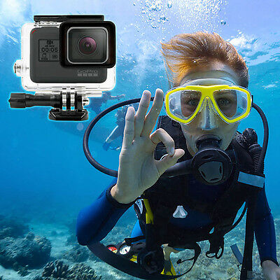 Transparent 45M Underwater Waterproof Protective Housing Case for Gopro Hero 5