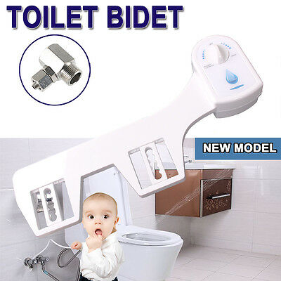 Toilet Bidet Seat Attachment Hygeian Water Wash  Unisex Bathroom Shattaf Shower