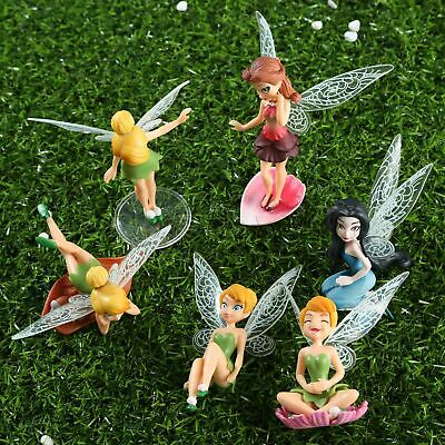 Mini Fairy Pixie Wing Spirit Baby Dollhouse Garden Ornament Random Style New