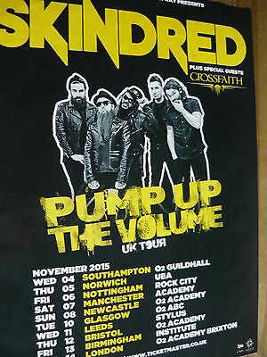Skindred - Magazine Cutting (Full Page Advert) (Ref T12)