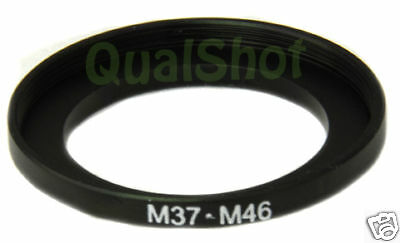 Step-up adapter ring 37-46 mm 37mm-46mm Anodized Black