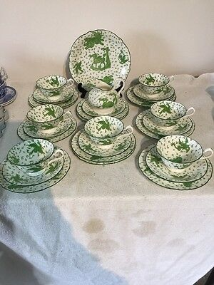Ford & Pointon Green Dragon Teaset
