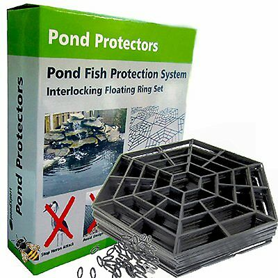 Pond Protector Floating Cover Net Water Fish Guard Grid Cats Heron New