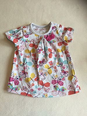 Baby Girls Clothes 3-6 Months - Cute T Shirt  Top - Combine Postage & Save