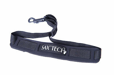 Saxtech Alto Saxophone Neck Strap / Sling - Also Fits Bb Clarinet with Loop