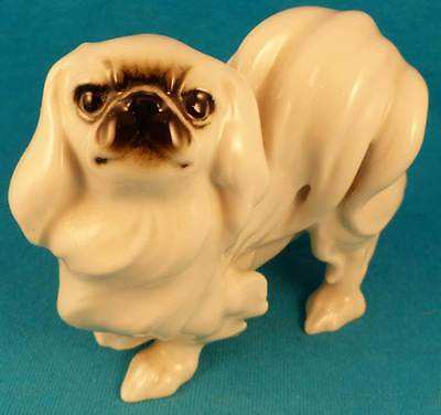 Hutschenreuther PEKE, Pekingese dog FREE SHIPPING EXCELLENT German OLD 1950-60's