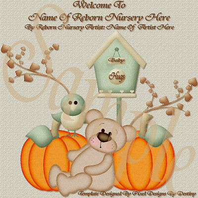 ~~Baby Hugs Reborn Baby Auction Template With Or Without Music+Free Logo~~ Doua