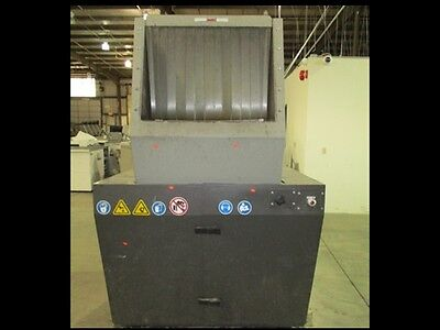40 HP Cumberland 1628X Granulator w/ Blower, Cyclone, Discharge Collector, Stand