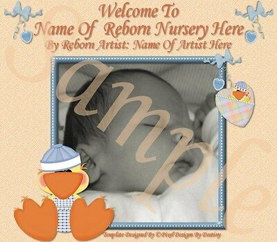 ~~Duckling Darlings Reborn Baby Auction Template+Can Add Music+Free Logo~~ Doua