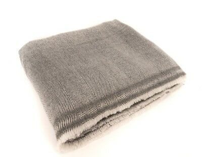 Extra Soft Cashmere High Quality Blanket/ Throw Travel - Made in Nepal