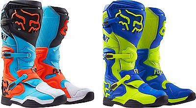 2016 Fox Racing Mens Comp 8 Boots - MX Offroad Dirtbike