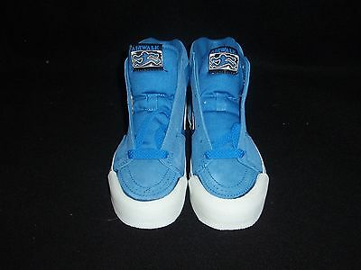 Nos Vintage 1980's Airwalk Shoes Beyond S.blue Size 4.5-6 Skateboard Bmx Shoes