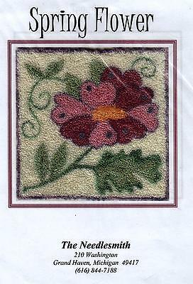 Spring Flower Punch Needle Transfer Pattern-The Needlesmith