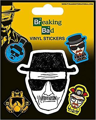 Breaking Bad Heisenberg Sticker set Standard NEW