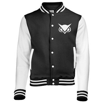 Vanoss Varsity Jacket Baseball Letterman Large Choice Of Size Unisex (Owl)