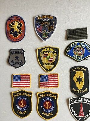 Police Patches very htf certain issues