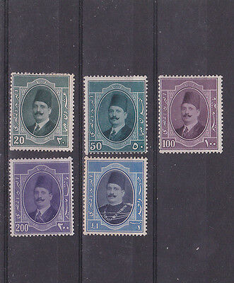 1923/4 Sc 99/103,five stamps     f1270