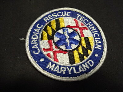 Cardiac Rescue Technician Maryland Collectible Sewing Patches