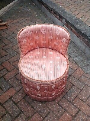 Sherbourne Vintage Pink Vintage Tub/Bedroom Chair