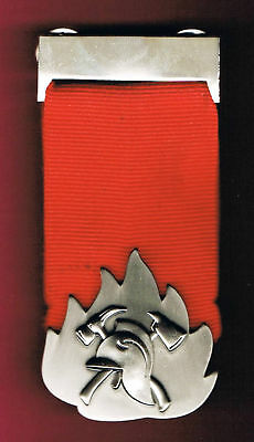 Israel Firefighting  & Rescue Medal Of Valor Rare Medal