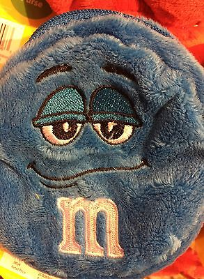 M&M's World Blue Character Coin Purse Plush New with Tags