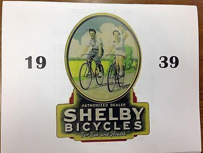 1939 Shelby Bicycle Co DEALER CATALOG copy