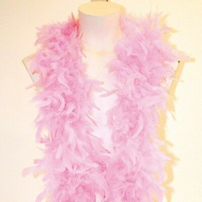 Feather Boa 1.8m Good Quality Feathers Pink