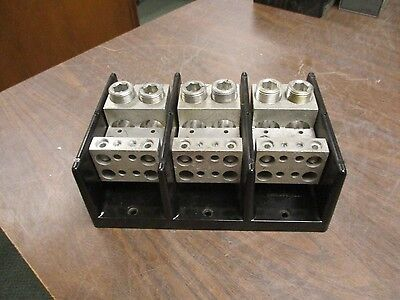Buss Power Distribution Block 16528-3 840A 600V 3P Used