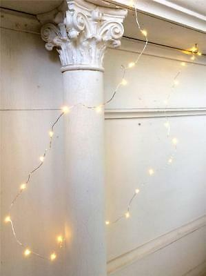Battery Operated Garland Firefly Lights Table Decoration or Xmas Tree 1.5 Metres