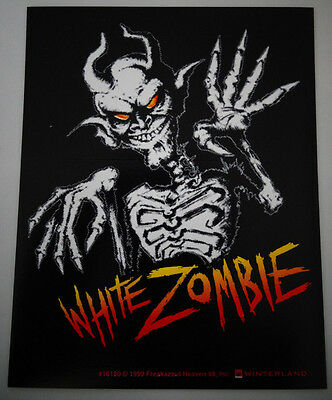 Lot of 5 Rob White Zombie Official Licensed Product Sticker