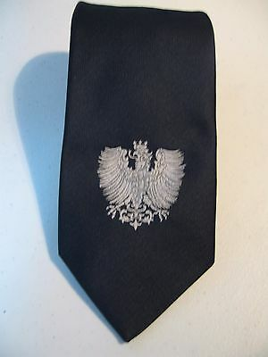 Vintage Wembley Necktie With The Crowned Eagle Crest