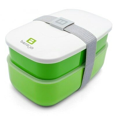 Bentgo All-in-one Stackable Bento Lunch Box Containers Green New Open Box