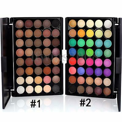 Palette Maquillage 40 Couleur Chaud Fard Ombre à Paupieres Mat Glitter Eyeshadow