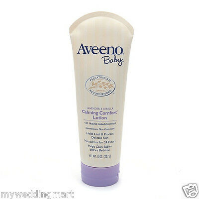 Aveeno Baby Soothing Calming Comfort Lotion Lavender & Vanilla 8 oz (227 g)
