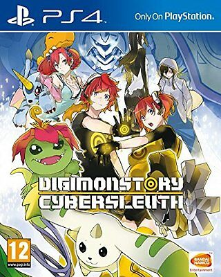 DIGIMON Story: Cyber Sleuth Videogame For Sony PS4 Games Console New Sealed Uk