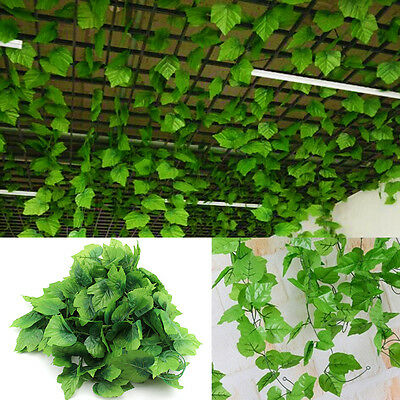 Artificial 82ft Silk Trailing Vine Flower Plant Wedding Garland foliage ivy
