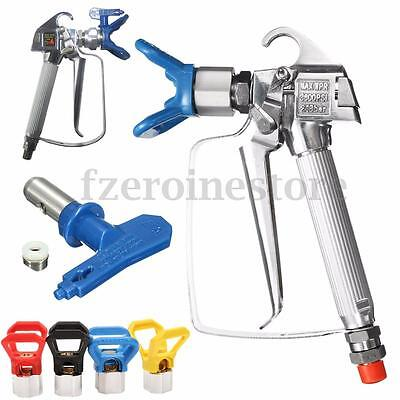 3600PSI Airless Paint Gun Sprayer With 517 Spray Tip & Guard For Titan Wagner