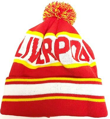 23c87ed0ef5 LIVERPOOL HAT BOBBLE Hat Pom Pom Hat Football Gifts - £9.99 ...
